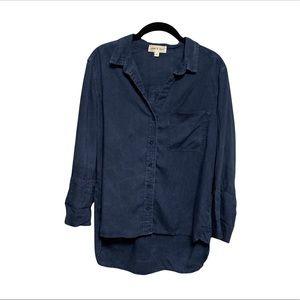 Cloth & Stone Dark Blue Button Down